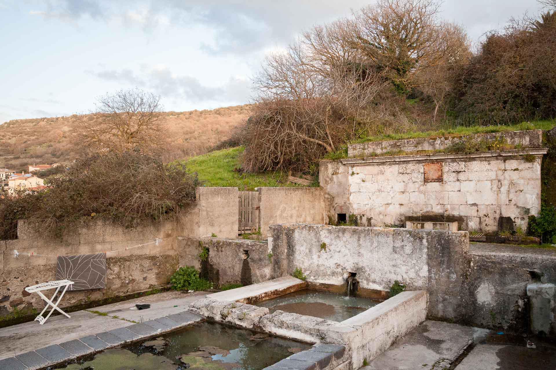 Bonorva, Fontana e lavatoio